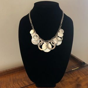 Jewelry - 5/$25 2-Strand Silver & Shell Statement Necklace